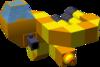 The Lamia B Gummi Ship enemy model