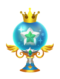 The Clear Trophy from Kingdom Hearts 3D.