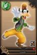 Goofy card (card 66) from Kingdom Hearts χ