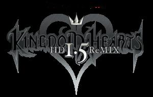 Kingdom Hearts HD 1.5 ReMIX Game Logo
