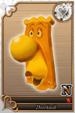 Doorknob card (card 222) from Kingdom Hearts χ