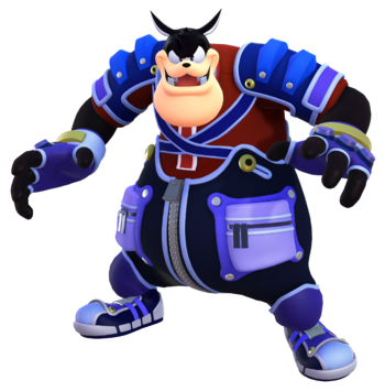 Official render for Pete in Kingdom Hearts III