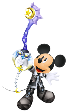 King Mickey in Birth by Sleep.
