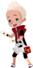 """One the the unnamed Keyblade Wielders<span style=""""font-weight: normal"""">&#32;(<span class=""""t_nihongo_kanji"""" style=""""white-space:nowrap"""" lang=""""ja"""" xml:lang=""""ja"""">キーブレード使い</span><span class=""""t_nihongo_comma"""" style=""""display:none"""">,</span>&#32;<i>Kīburēdo Zukai</i><span class=""""t_nihongo_help noprint""""><sup><span class=""""t_nihongo_icon"""" style=""""color: #00e; font: bold 80% sans-serif; text-decoration: none; padding: 0 .1em;"""">?</span></sup></span>)</span>, he appears during the daily Team ranking in [chi]."""