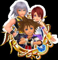Sora & Riku & Kairi Medal