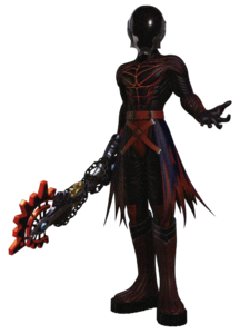 Official Render of Vanitas (KHIII) wearing his iconic outfit from Birth By Sleep