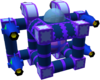 The Golem B Gummi Ship enemy model, used both in the original and Final Mix version despite the A enemy model looking different.