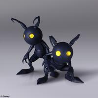 Kingdom Hearts III Shadow Set Bring Arts Figures Image