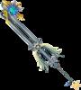 Oathkeeper as it appears in Kingdom Hearts II