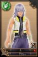 Riku card (card 40) from Kingdom Hearts χ