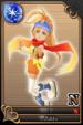 Rikku card (card 161) from Kingdom Hearts χ