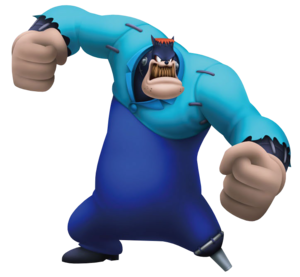 Julius, as he appears in Kingdom Hearts 3D: Dream Drop Distance
