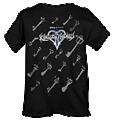 KHII Keyblades T-Shirt (HT Merchandise).png