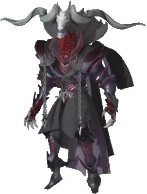 Xehanort wearing his Keyblade Armor