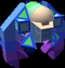 The Siren B Gummi Ship enemy model