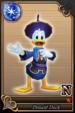 Donald Duck card (card 56) from Kingdom Hearts χ