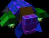 The Adamant B Gummi Ship enemy model