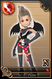Paine card (card 165) from Kingdom Hearts χ
