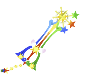 The yet to be released second upgrade of the Fairy Stars Keyblade.