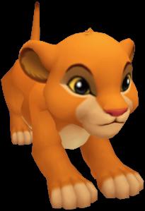 Simba and Nala's cub KHII.png