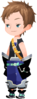 """One the the unnamed Keyblade Wielders<span style=""""font-weight: normal"""">&#32;(<span class=""""t_nihongo_kanji"""" style=""""white-space:nowrap"""" lang=""""ja"""" xml:lang=""""ja"""">キーブレード使い</span><span class=""""t_nihongo_comma"""" style=""""display:none"""">,</span>&#32;<i>Kīburēdo Zukai</i><span class=""""t_nihongo_help noprint""""><sup><span class=""""t_nihongo_icon"""" style=""""color: #00e; font: bold 80% sans-serif; text-decoration: none; padding: 0 .1em;"""">?</span></sup></span>)</span> from the 14-2 til 14-5 Daybreak Town story missions in [chi] and the 401-411 story missions in Unchained, respectively. He can be found at the Clock Tower Surroundings."""