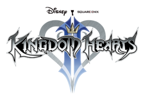 The logo for Kingdom Hearts II