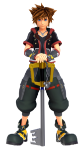 New render of Sora from E3 2018/Kingdom Hearts Premiere Invitation events