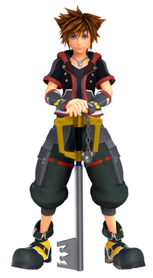 New render of Sora from E3 2018/Kingdom Hearts Premiere Invitation events