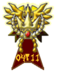 A featured user medal