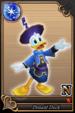Donald Duck card (card 55) from Kingdom Hearts χ
