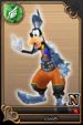 Goofy card (card 73) from Kingdom Hearts χ