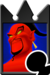 Sprite of the Jafar card from Kingdom Hearts Re:Chain of Memories.