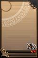 an empty N+ Upright card