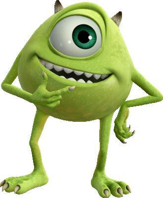 Mike Wazowski, as he appears in Kingdom Hearts III