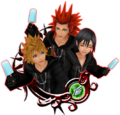 Roxas & Axel & Xion 6★ KHUX.png