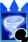 Sprite of the Aero card from Kingdom Hearts Re:Chain of Memories