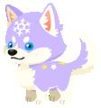 Purple Snowpup (Spirit) KHUX.png