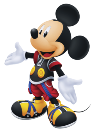An image of King Mickey from Re: Chain of memories