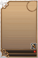 an empty N Assist card
