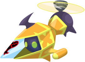 Yellow Gummi Copter KHX.png