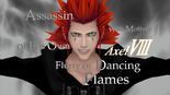 A picture of Axel during the intro for 358/2 days
