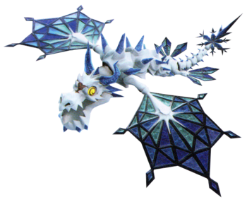 Frost Serpent from the Ultimania