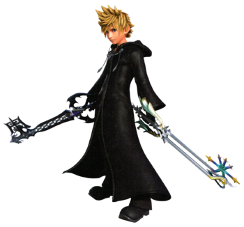Roxas from the Ultimania