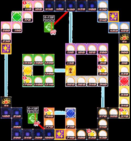 Skull Board Map. KH BBS