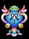 The Keyslinger Trophy from Kingdom Hearts 3D.