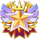 The A Merit Rank icon
