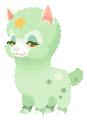 Green Alpacastar (Spirit) KHUX.png