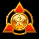 The D Merit Rank icon
