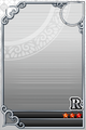 an empty R Assist card
