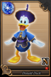 Donald Duck card (card 57) from Kingdom Hearts χ